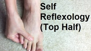 Self Reflexology - Top of Foot - Massage Monday #223