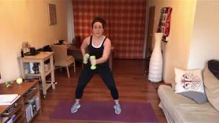 30 Minute Upper Body + Cardio Workout!