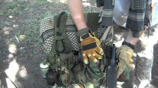 MOLLE II FLC (Fighting Load Carrier) In Woodland Camouflage
