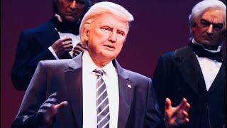 Donald Trump Hall of Presidents FULL SPEECH! FRONT ROW VIEW 2017 Update Magic Kingdom Disney World