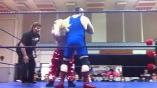 PPW wrestling :  Mutato vs. Raunchy Jules