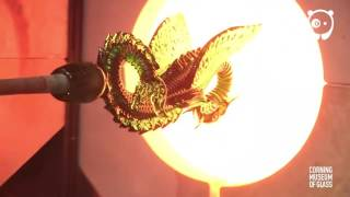 Sculpting A Dragon From Glass