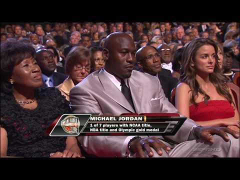 Michael Jordan Career Highlights Hall of Fame 2009 HD