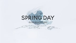 (Acoustic English Cover) BTS - Spring Day (봄날) | Elise (Silv3rT3ar)