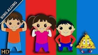 Head Shoulders Knees And Toes (HD) – Sing Along Nursery Rhyme With Shemaroo Kids