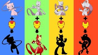 What If Mew & Mewtwo Evolution were Equipped by Tony Stark (Iron Man) ?