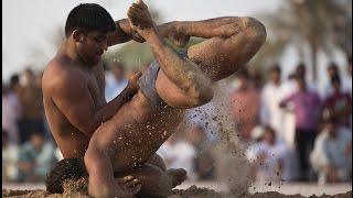 Super Men Hind Kesari Title Traditional Indian Kushti wrestling