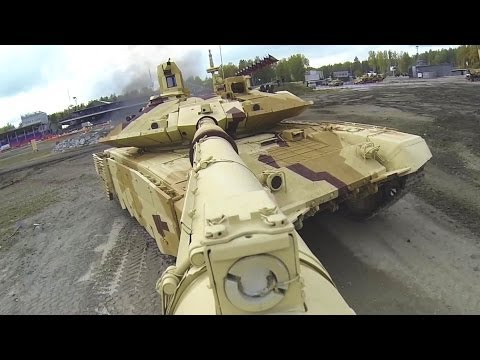 watch Russia Arms Expo 2013 - Military Assets Live Firing Demonstration [1080p]