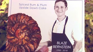 Mourners Given Upside-Down Cake Recipe at 19-Year-Old Blaze Bernstein