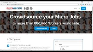 Microworkers Admission Test with Work Proof 2017