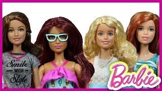 Barbie Fashionistas Bebekleri 2016 Oyuncak Tanıtımı   Barbie izle   EvcilikTV Barbie Oyuncakları