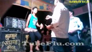 Bhojpuri Hot Sexy Arkestra Stage Dance Show Video Song #110
