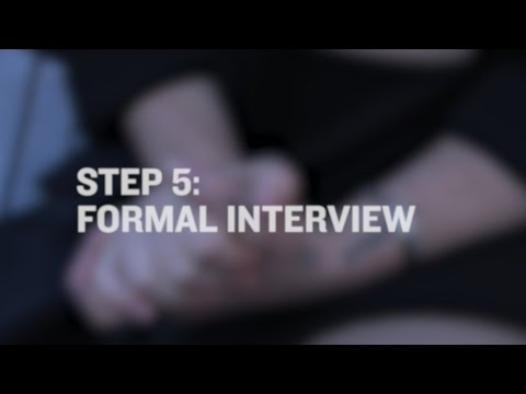 Xxx Mp4 Reporting Sexual Assault To Police STEP 5 Formal Interview 3gp Sex
