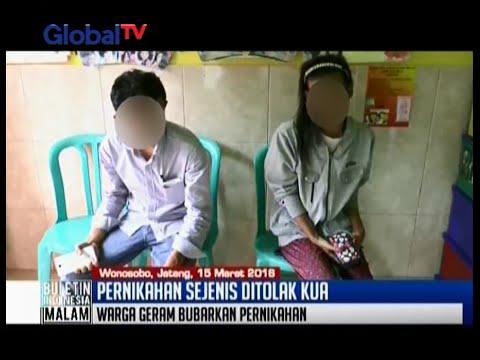 Sudah tukar cincin, pernikahan sesama jenis di Wonosobo ditolak KUA - BIM 15/03