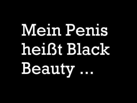 Mein Penis heißt Black Beauty...(Lyrics)