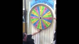 Lecia and her Wheel of Fortune