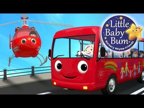 Wheels On The Bus | Part 13 | Nursery Rhymes | By LittleBabyBum!