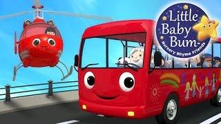 Wheels On The Bus   Part 13   Nursery Rhymes   By LittleBabyBum!