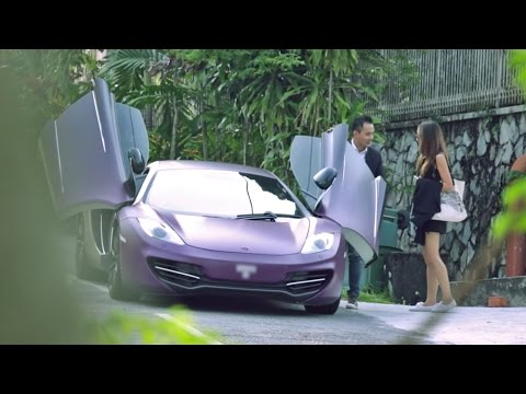 Picking up Uber riders with a McLaren - AutoBuzz.my