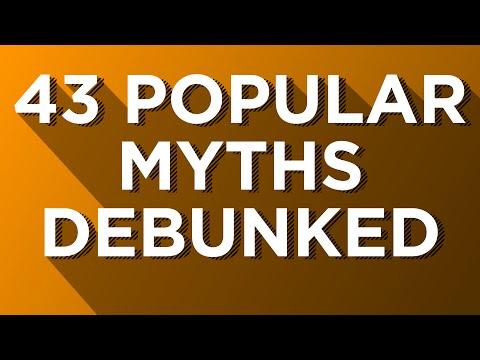 Myth Debunker: 43 Popular Myths Debunked