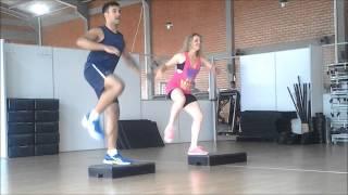 Coreografia de Step Dance - Camila Cecon e Gabriel Franz