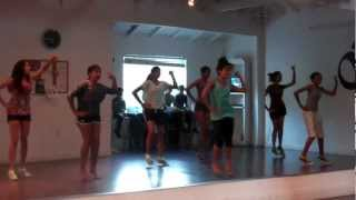AMNA Glendale All Around Dancer Class Ages 12-15 (Sep 14, 2012) Pungi