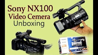 Sony  NX100 video Camera in hindi - mid. Budget Best Video Camera