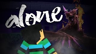 Alone - #2 - DIT IS EEN SPOOKHUIS!! - Minecraft Roleplay