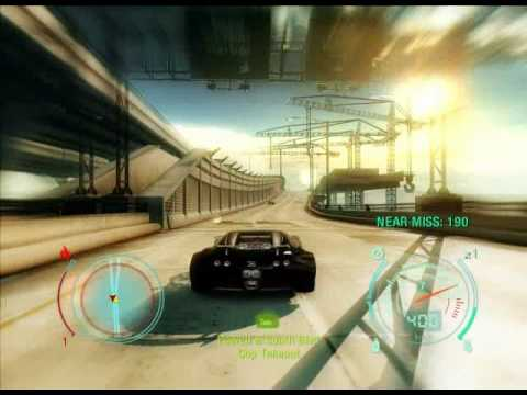 Need For Speed Undercover Gameplay Bugatti Veyron 404 kmh