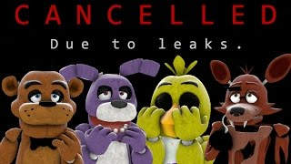 THE ANIMATRONICS REACT TO: Sister Location CANCELLED - Due to leaks