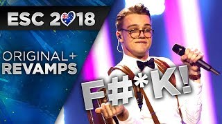 Eurovision 2018 Revamps | Before & After