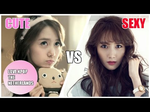 K-POP Girl Groups - Cute VS Sexy