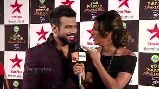 Rithvik and Asha at Star Parivaar Awards 2015