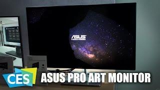CES 2017: ASUS ProArt PA32U Monitor