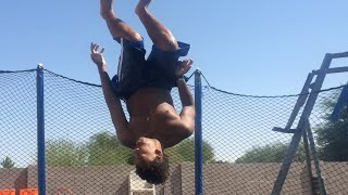 How To Do A Side Flip A On Trampoline For Beginners