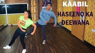 Haseeno ka Deewana Dance Video | Kaabil | Choreography by Zain | Hip hop dance