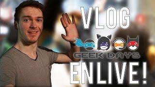 VLOG: On rencontre ADRI GEEK et PRINCE en Live à GEEK DAYS !