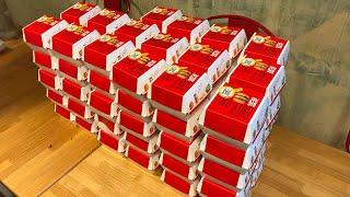【早大食い】Eating 30 Big Macs in One Sitting 【challenge】