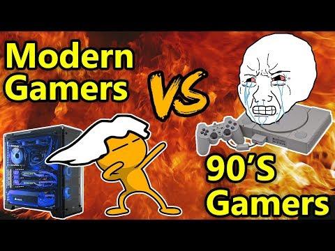Xxx Mp4 90s Gamers VS Modern Gamers 3gp Sex