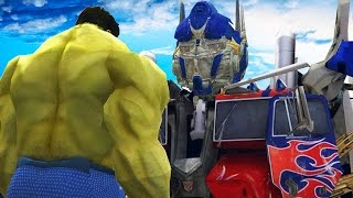 THE HULK VS OPTIMUS PRIME (Transformers) - EPIC BATTLE