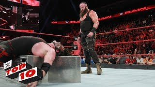 Top 10 Raw moments: WWE Top 10, November 27, 2017