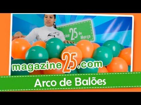 Como fazer um Arco de Balões Magazine 25