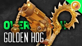 THE GOLDEN HOG! - Overwatch Gameplay (Funny Moments)