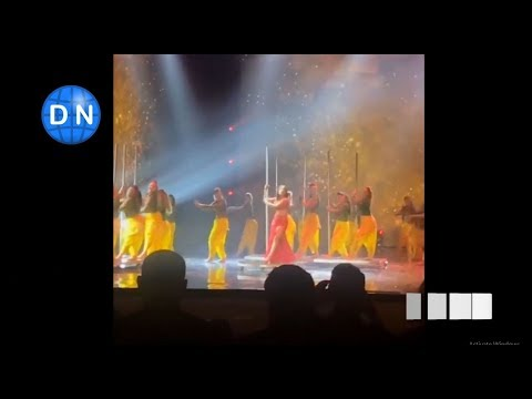 Priyanka Chopra enthralls audience at an awards show with an electrifying performance