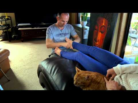 Foot Massage with Kitty Cat & Dmitri