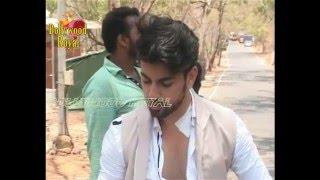 On Location Of TV Serial 'Tashan E Ishq'  Yuvraj Saves Twinkle & Kunj Part  1