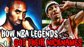 How 7 NBA LEGENDS Got Their FAMOUS NICKNAMES!