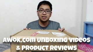 Unboxing Videos of Awok.com Purchases