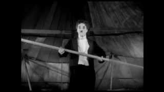 Charlie Chaplin - The Circus - Tightrope Scene