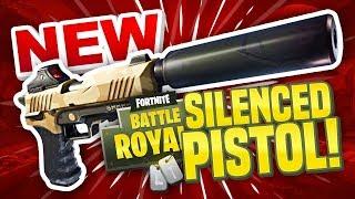 NEW SILENCED PISTOL! - Fortnite Battle Royale
